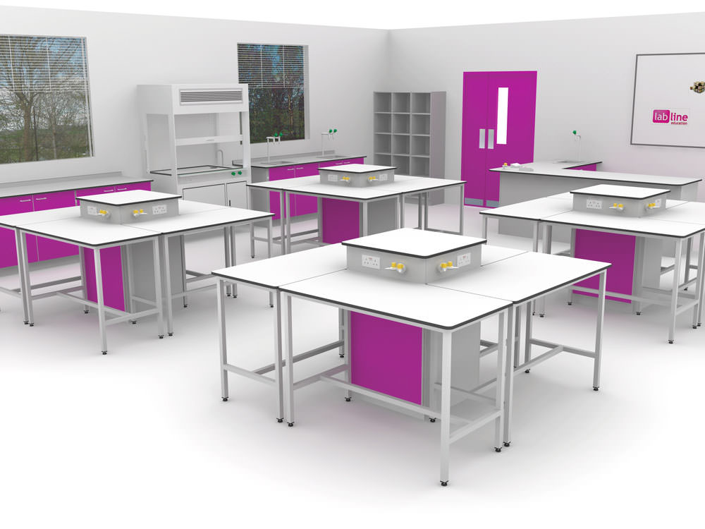 Classroom Furniture Layout ~ Science pod system interfocus school furniture