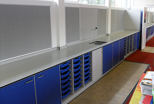 primary school science laboratories