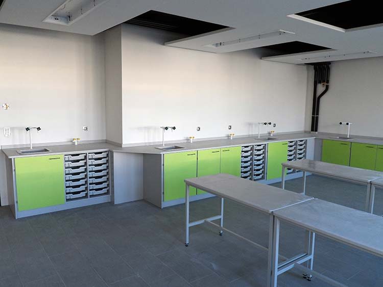 Classroom Design Solutions ~ Turnkey classroom solutions interfocus school laboratory
