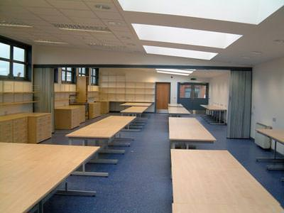 art classroom | part of a complete school block refurbishment contract