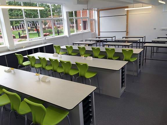 Science Classrooms Interfocus School Laboratory Furniture