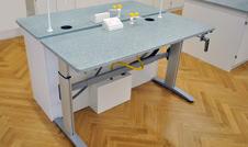 height adjustable school table