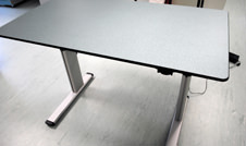 height adjustable table or desk