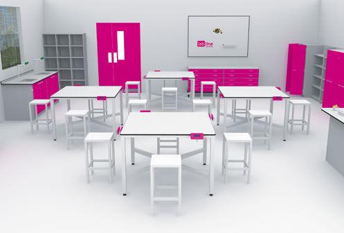 interfocus design and technology classroom furniture