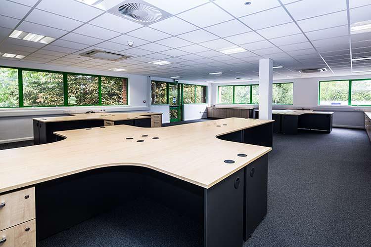 interfocus office installation